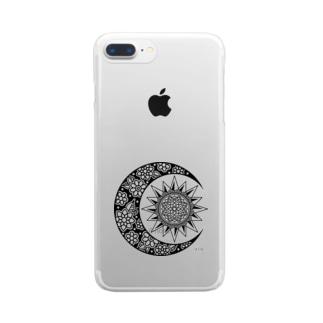 Pri Mandala Clear smartphone cases