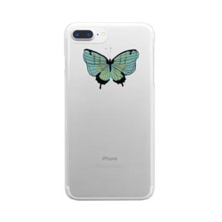 ひらり Clear smartphone cases
