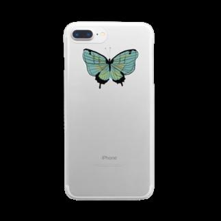 anco.のひらり Clear smartphone cases