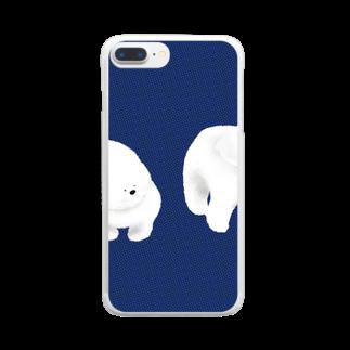 Iwabuchi Mamiの不思議なワンちゃん Clear smartphone cases