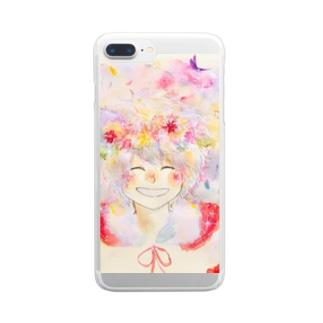 ダンテ Clear smartphone cases