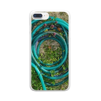 ホースグルグル Clear smartphone cases