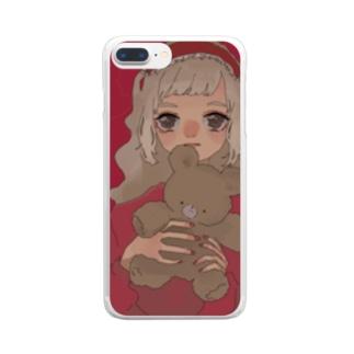 くまと Clear smartphone cases
