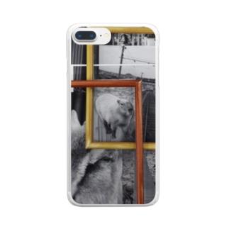 カピバラクン Clear smartphone cases