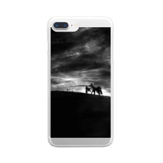 Dark Clear smartphone cases