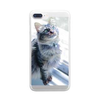 ゼロちゃんケース Clear smartphone cases