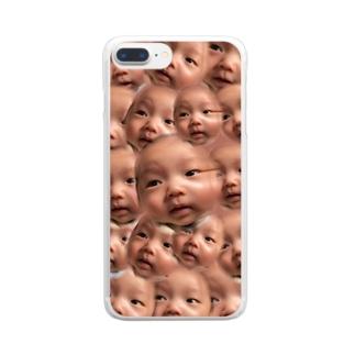 T a K u M i Clear smartphone cases