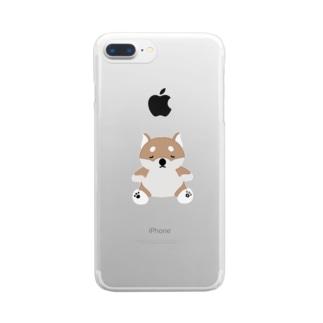 shiba Clear smartphone cases