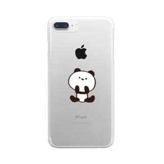 パンダのWICKEY Clear smartphone cases