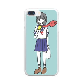 ice zou Clear smartphone cases