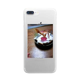 あめちゃんケーキ Clear smartphone cases