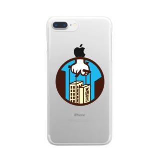 パ紋No.3362 米田  Clear smartphone cases