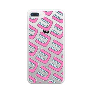 ほぼ入れ歯 Clear smartphone cases