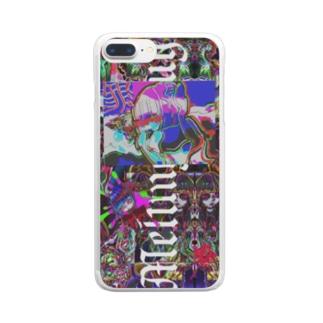罪罪人 Clear smartphone cases