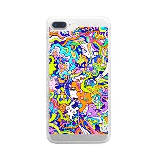 海のセンリツ Clear smartphone cases