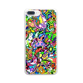 ユウワク Clear smartphone cases
