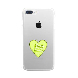 melting heart zure logo Clear smartphone cases