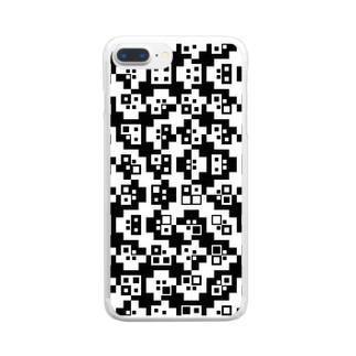 design#012 Clear smartphone cases