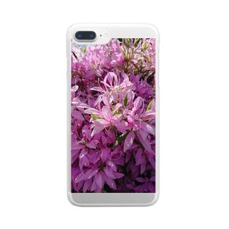 つつじ Clear smartphone cases