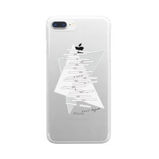 LET'S STICKS Clear smartphone cases