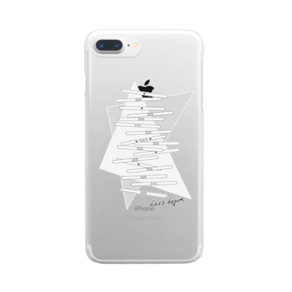 wlmのLET'S STICKS Clear smartphone cases