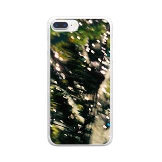 忘れられない Clear smartphone cases