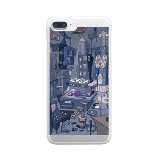 science Clear smartphone cases