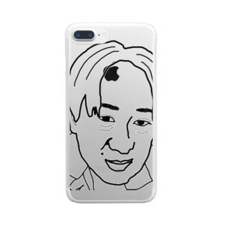 支配層 Clear smartphone cases
