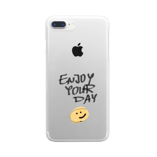 ENJOYYOURDAY Clear smartphone cases