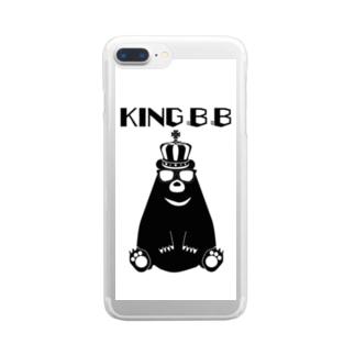 KING B B Clear Smartphone Case