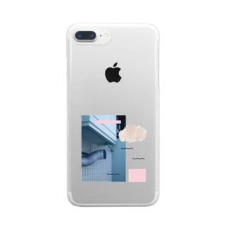 ダクト Clear smartphone cases