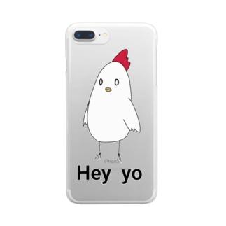 Rin shopのKokekko Clear smartphone cases