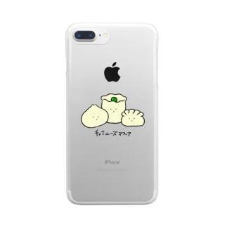 チャイニーズマフィア Clear smartphone cases