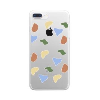 ぶちぶちBuchiBuchi Clear smartphone cases