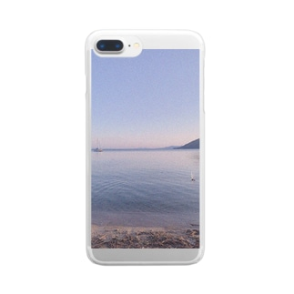 たそがれうみ。 Clear Smartphone Case