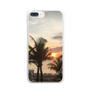 神の国 バリ島編 Clear smartphone cases