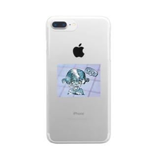 ひま   (さみしい)          Clear smartphone cases
