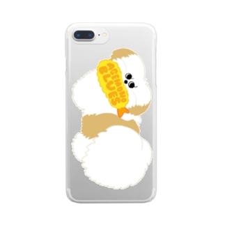 あげものブルース(モコゾウ) Clear smartphone cases