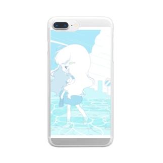 海抜ゼロメートル Clear smartphone cases