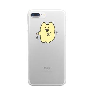ささみダンス Clear Smartphone Case