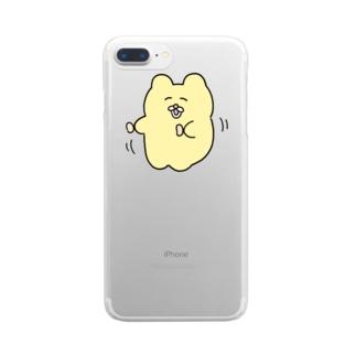 ささみダンス Clear smartphone cases