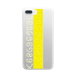 12345678910_yellow Clear smartphone cases