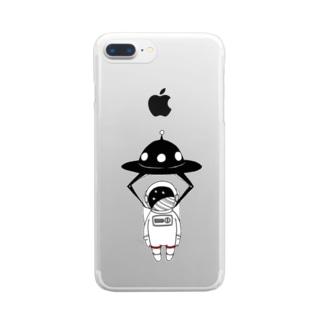 憧れとの遭遇。 Clear smartphone cases
