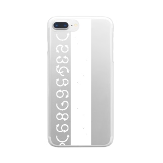 12345678910_white Clear smartphone cases