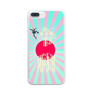 平成令和 Clear smartphone cases