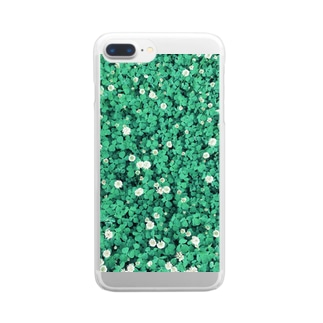 cloverⅡ Clear smartphone cases