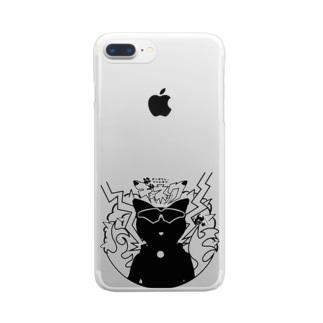ギャネックシルエット Clear smartphone cases