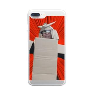 ダンボールではない!超合金だ! Clear smartphone cases