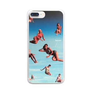 heaven Clear smartphone cases