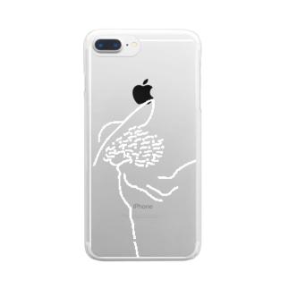 ザワワ Clear smartphone cases